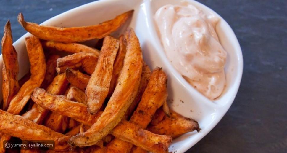 طريقة عمل البطاطا الحلوة المقلية