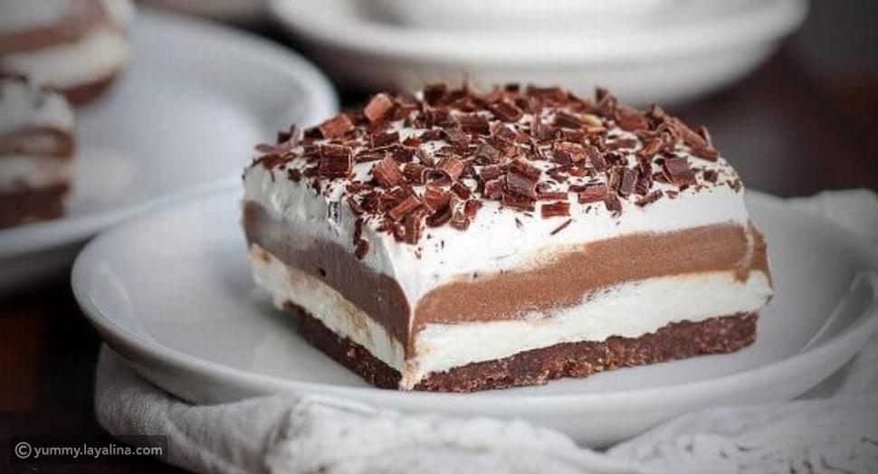حلوى لزانيا الشوكولاته