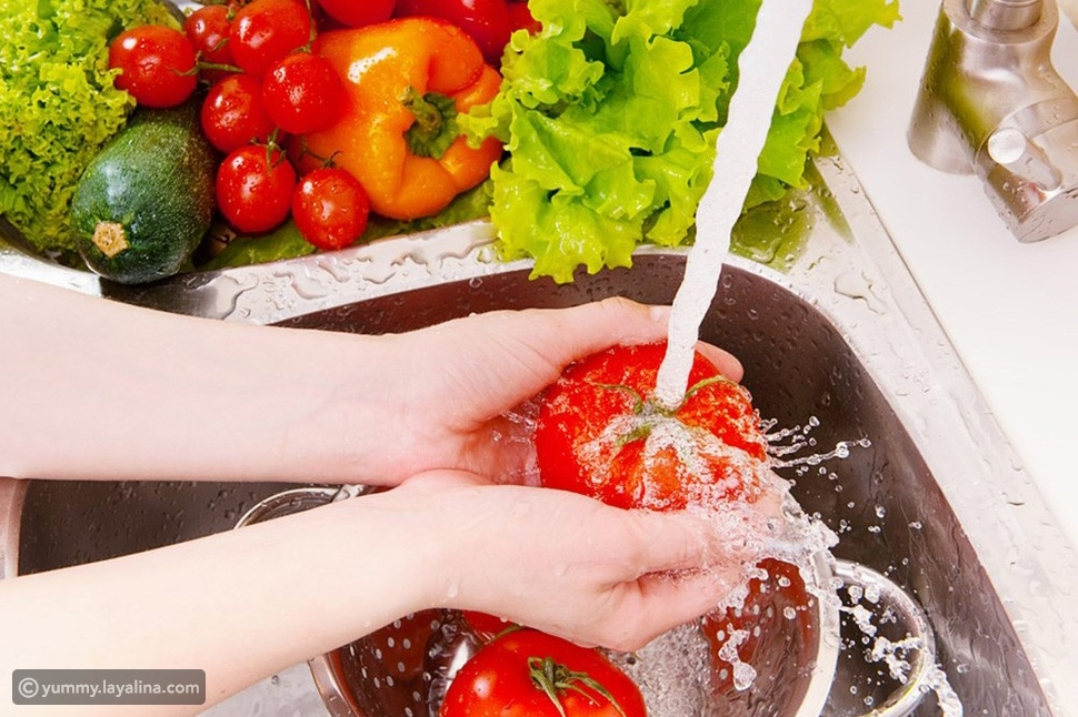 طريقة تعقيم الأطعمة من فيروس كورونا