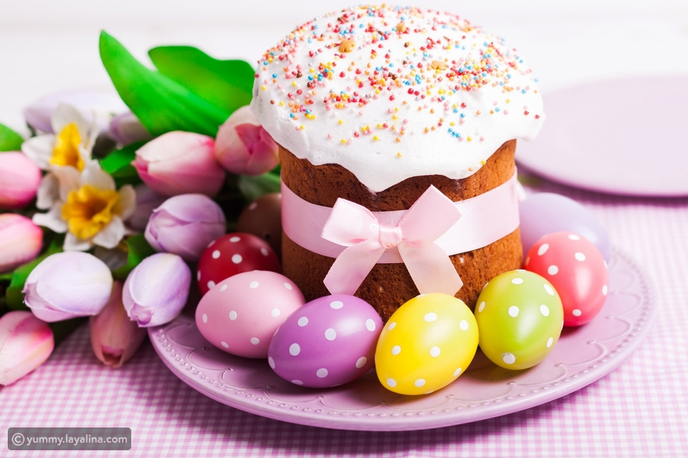 مكونات كعكة عيد الفصح