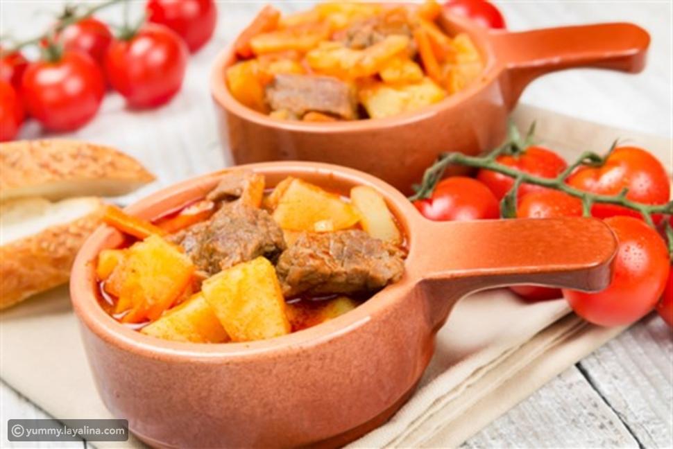 يخنة البطاطا الفلسطينية